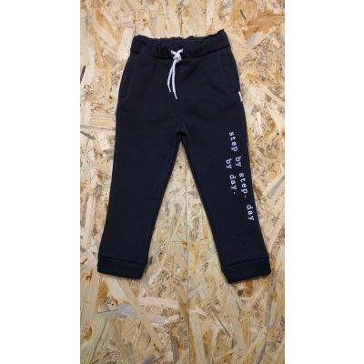 Спортивные брюки утеплённые 393 черные ТМ HART, Украина