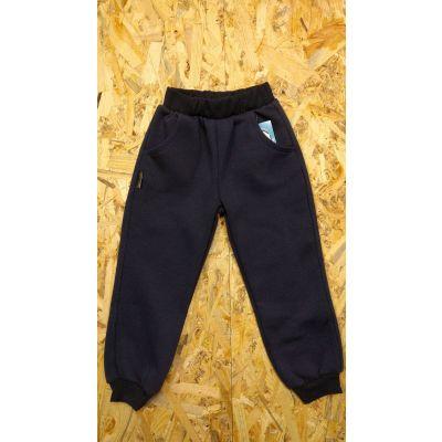 Спортивные брюки Тедди т.синие ТМ Ромашка, Украина