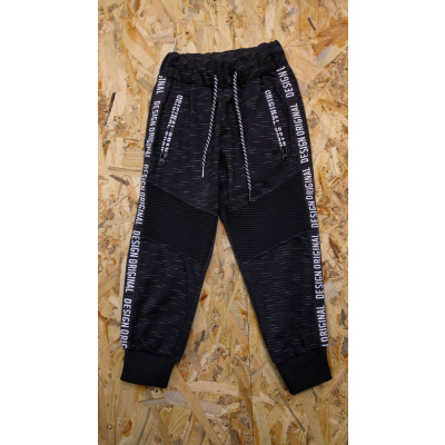 Спортивные брюки для мальчика 61001черный меланж ТМ Seagull, Венгрия