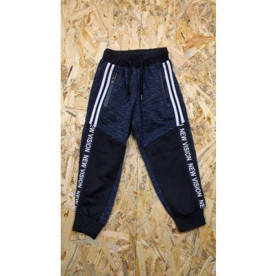 Спортивные брюки для мальчика 61003 синие ТМ Seagul, Венгрия