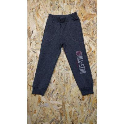 Спортивные брюки для мальчика 110-17 серые ТМ Lotex, Украина