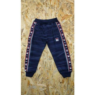 Спортивные брюки для мальчика 5755 синий с красным ТМ S&D kids, Венгрия