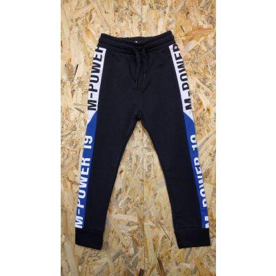 Спортивные брюки для мальчика 2815/1.02 чёрно-синие ТМ Marions, Турция