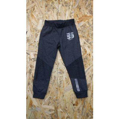 Спортивные брюки для мальчика 111-16 черные ТМ Lotex, Украина