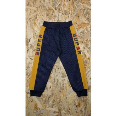 Спортивные брюки для мальчика 5888 синие ТМ S&D kids, Венгрия