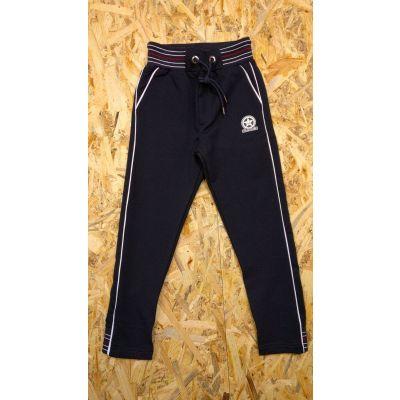 Спортивные брюки для мальчика 2722 тёмно-синие  ТМ Ayugi, Турция