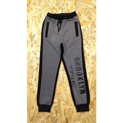 Спортивные брюки для мальчика 115109 серые ТМ SMIL