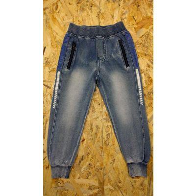 Спортивные брюки 5478 джинс трикотаж F&D kids, Венгрия