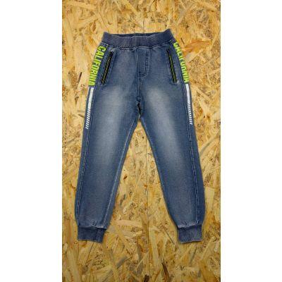 Спортивные брюки для мальчика 5478-1 джинс трикотаж F&D kids, Венгрия