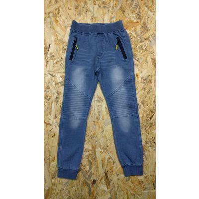Спортивные брюки для мальчика 5481 джинс трикотаж F&D kids, Венгрия