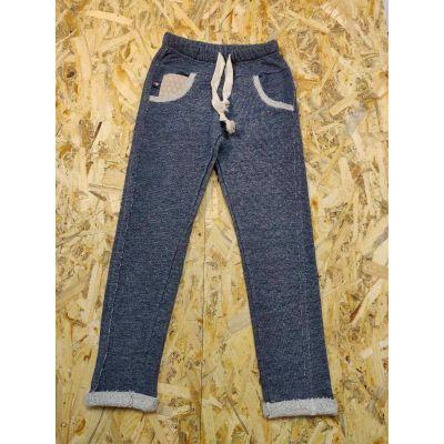 Спортивные брюки для мальчика 115155 серый графит ТМ SMIL