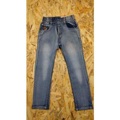 Джинсовые брюки для мальчика 875 голубые, CHILDHOOD, Венгрия