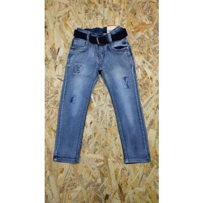 Джинсовые брюки для мальчика 878 голубые CHILDHOOD, Венгрия