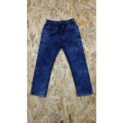 Джинсовые брюки для мальчика 7124 синие CHIDHOOD, Венгрия