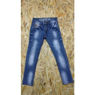 Джинсовые брюки для мальчика F375 голубые, F&Dkids, Венгрия