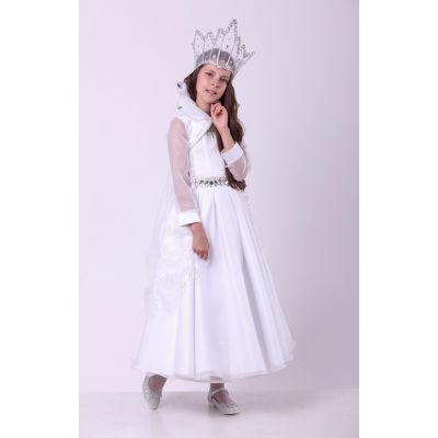 Карнавальный костюм для девочки Снежная Королева стиль