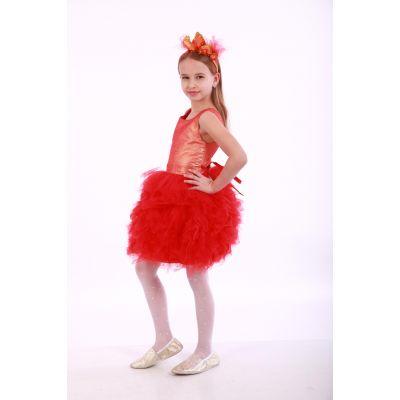 Карнавальный костюм для девочки Огонек