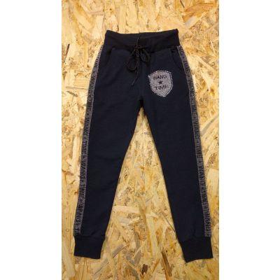Спортивные брюки для девочки  2541 т.синие Турция