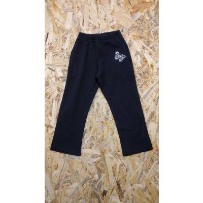 Спортивные брюки для девочки TR038 черные , Украина