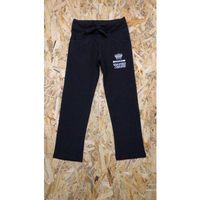 Спортивные брюки для девочки ORIGINAL черные, WANEX,Турция
