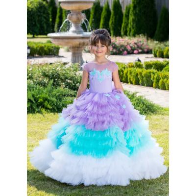 Нарядное бальное платье для девочки 11768