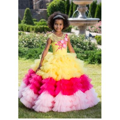 Нарядное бальное платье для девочки 11767