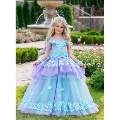 Нарядное бальное платье для девочки 11752