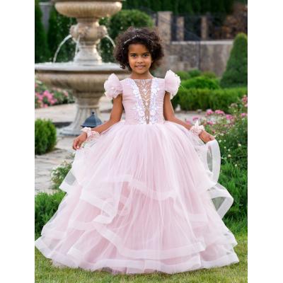 Нарядное бальное платье для девочки 11766
