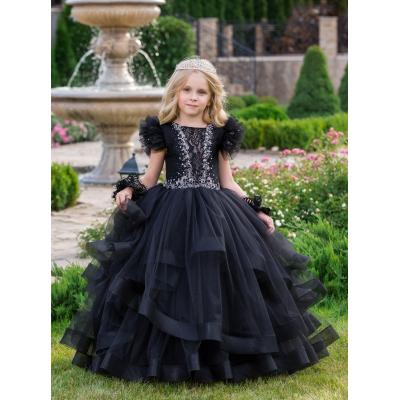Нарядное бальное платье для девочки 11765
