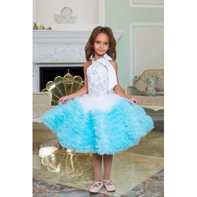 Нарядное бальное платье для девочки 11781