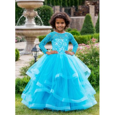 Нарядное бальное платье для девочки 11763