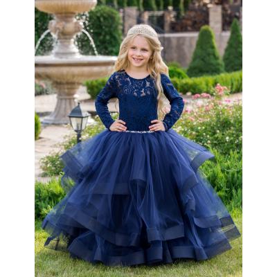 Нарядное бальное платье для девочки 11762