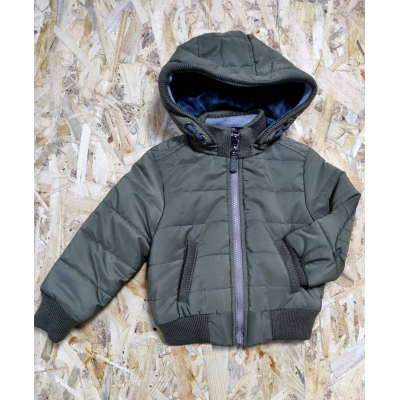 Курточка для мальчика Хаки 401 43-16