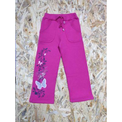 Спортивные брюки для девочки 60010-20 малиновые Garden Baby