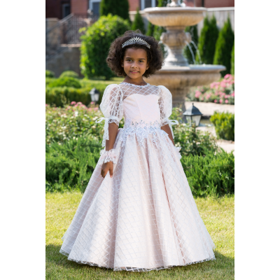 Нарядное бальное платье для девочки 11748