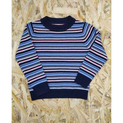 Свитер для мальчика 809 полоска FashionKids
