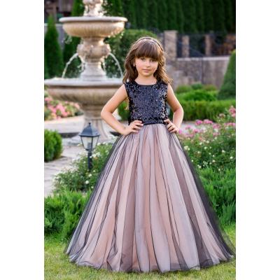 Нарядное бальное платье для девочки 11742