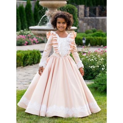 Нарядное бальное платье для девочки 11739