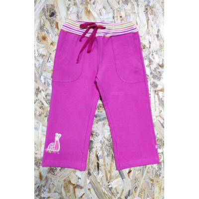 Спортивные брюки для девочки 920807 малиновые ТМ Minikin, Украина