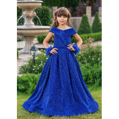 Нарядное бальное платье для девочки 11735