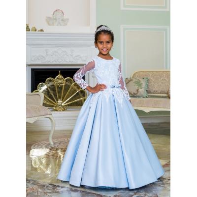 Нарядное бальное платье для девочки 11796