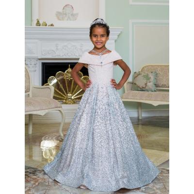 Нарядное бальное платье для девочки 11794