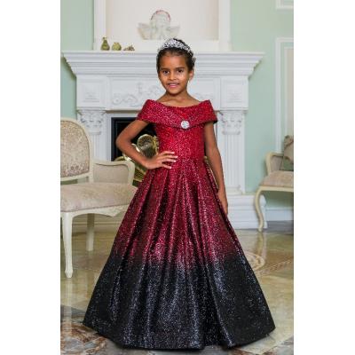 Нарядное бальное платье для девочки 11792