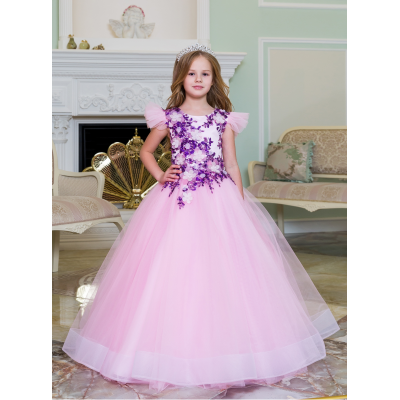 Нарядное бальное платье для девочки 11791