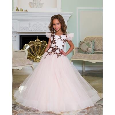 Нарядное бальное платье для девочки 11790