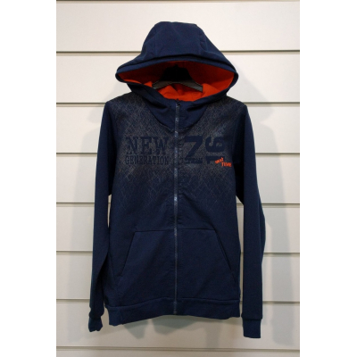 Спортивная куртка для мальчика 101 5-41 синяя ТМ ЛЯ-ЛЯ, Украина