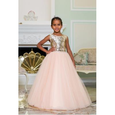 Нарядное бальное платье для девочки 11787