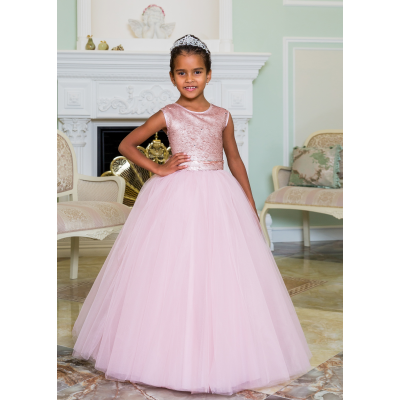 Нарядное бальное платье для девочки 11786