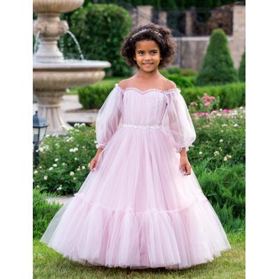 Нарядное бальное платье для девочки 11761