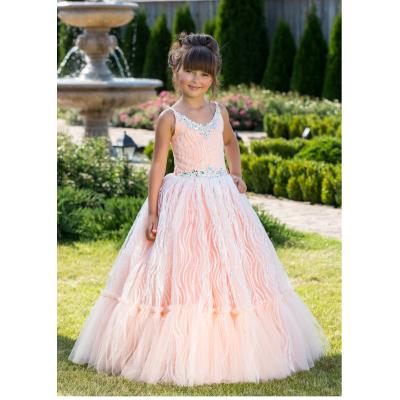 Нарядное бальное платье для девочки 11760